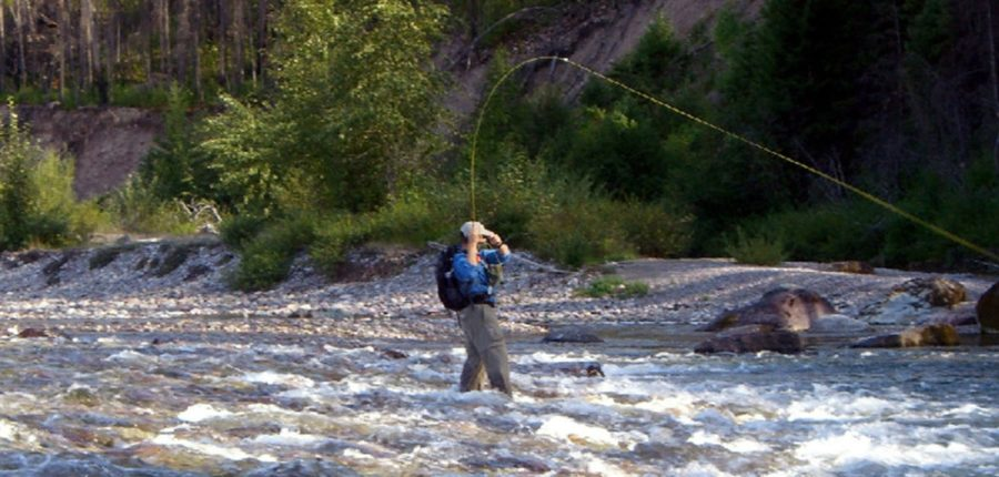 General Information about Fly Fishing in the Bob Marshall Wilderness