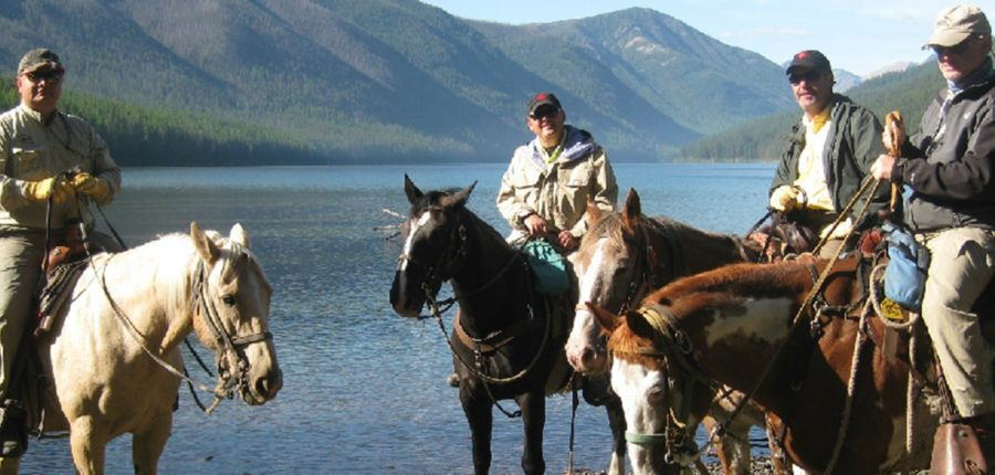 Roving Horseback Fly Fishing in the Bob Marshall Wilderness